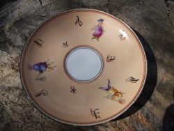 Porcelán kávéscsésze alj az 1800-as évekből (200330)