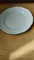 Antik jelzett fehér tányér
