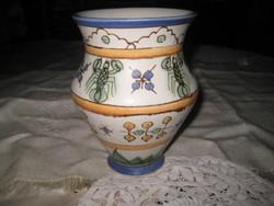 Gorka Géza váza , hibátlan , szép állapot , a Képcsarnok  Vállalat  zsűrizésével , 12 x 16 cm