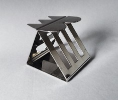 Nathalie du Pasquier posztmodern dizájner szalvétagyűrű, Bodum 1990 /6/