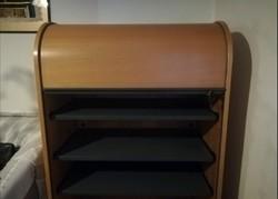 Rolós, redőnyös zárható szekrény