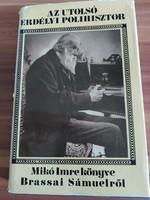Mikó Imre: Az utolsó erdélyi polihisztor, Brassai Sámuel- 1971