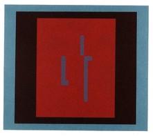 Barcsay Jenő - Emlék 32 x 37 cm színes szita 1976