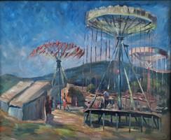 Boldizsár István olaj festménye