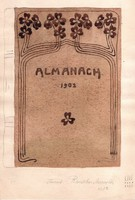 Rauscher Mariska - Almanach 18,5 x 12,5 cm tus, papír