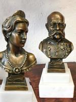 Ferenc József - Sissy, Wittelsbach Erzsébet magyar királyné büszk párban