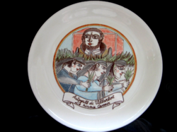 Giovani DeSimone gyűjtői tányér Ceraminter