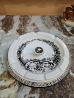 Hollóházi porcelán Jurcsák 799 Hamutál 17cm 1827 Női fejek