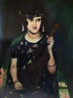 Kássa Gábor 1925 olaj festménye