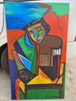 Bertalan szignós festmény