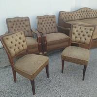 Vintage stilusú ülőgarnitúra XX. század közepe
