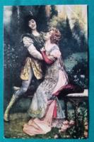 Reprint Kósa Pál Gyjteményéből:Francesca da Rimini - Postcard Bt.Budapest,postatiszta