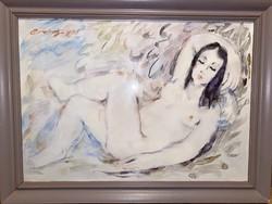 Erdei Sándor (1917-2002) - Női akt