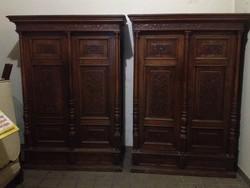 Ónémet oszlopos szekrények párban!!!!