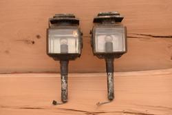 Régi Hintólámpa / Lámpa / Loft / Industrial