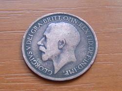 ANGOL ANGLIA 1/2 HALF PENNY 1912 King George V. #