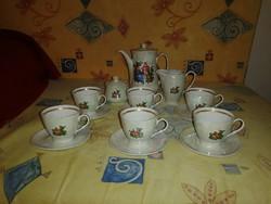 6 személyes teáskészlet