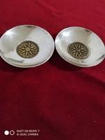 Ezüst (bronzbetétes) tálka páros (Macedónia)