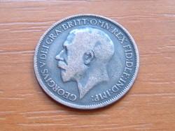 ANGOL ANGLIA 1/2 HALF PENNY 1919 King George V. #