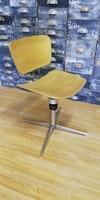 Ipari szék, x műhelyszék, felújított loft stílusú szék, industrial