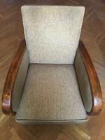 Kettő darab art deco fotel