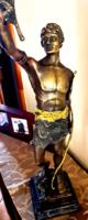 Győzedelmes ! Bronz szobor ! Egyedi!