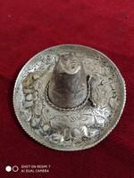 Ezüst mexikói szombréró (925)