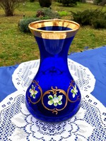 Muranói Királykék váza