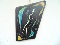 Art deco kerámia fali kép