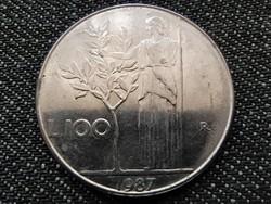 Olaszország Köztársaság (1946-) 100 Líra 1987 R (id27597)