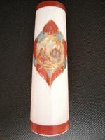 Tejüveg kb. 150 éves váza ! Hutaüveg ! Üvegváza Kecskeduda - szerelmes jelenet