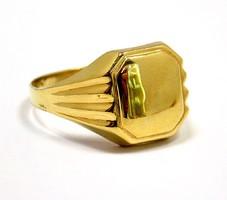 Arany pecsétgyűrű (ZAL-Au93343)