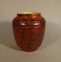 Tófej kerámia váza kis méret