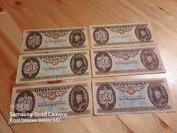 50 forintosok