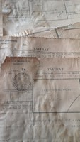 14 db táviratgyűjtemény, egyéb levelezések, vegyes iratok
