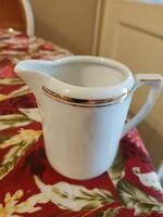 Aranyozott Altwasser porcelán kiöntő