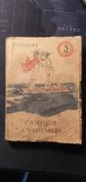 VOLTAIRE Candide a vadember - antik könyv 1961 -es