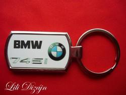 BMW 745i FÉM KULCSTARTÓ