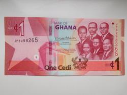 Ghána 1 cedis 2015 UNC