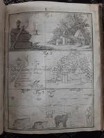 Antik könyv a 18. századból segédlet festők számára