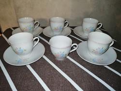 Arpo román porcelán kávéscsészék