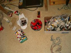 5 kg LEGO játék gyerek építős összerakó öt kilogram ömlesztve
