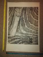Gy.Szabó Béla, Isteni színjáték fametszet, szép állapotban, méret jelezve