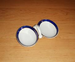 Antik német porcelán asztali sótartó borstartó (3/K)