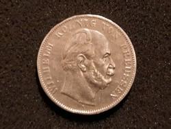 Német Ezüst Győzelmi Tallér 1871 RRR