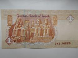 Egyiptom 1 pounds 2018 UNC