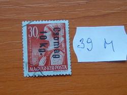 FELÜLBÉLYEGZETT 1946 39M