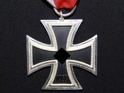Német 2. VH Vaskereszt Iron Cross / Eisernes Kreuz EK 2 Eisernes Kreuz EK2 Wächtler & Langer LDO L55