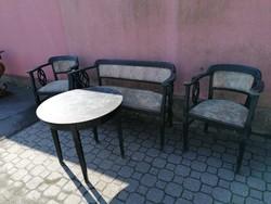 Szecessziós ülőgarnitúra