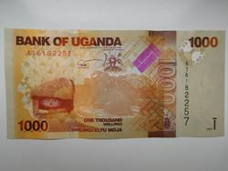 Uganda 1000 shilings 2016 UNC